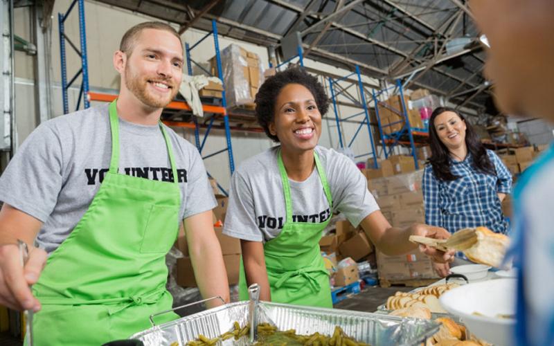 volunteering happiness